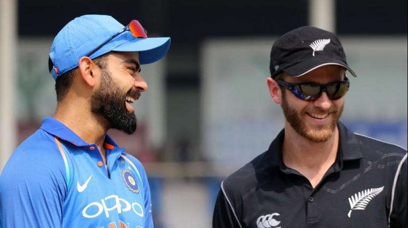 India to take on New Zealand in the first semi final of ICC World Cup today