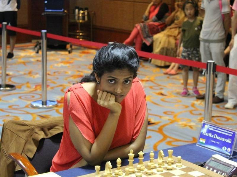 D.Harika reach in quarterfinals of World Women