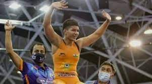 Priya Malik wins gold medal at World Cadet Wrestling Championship
