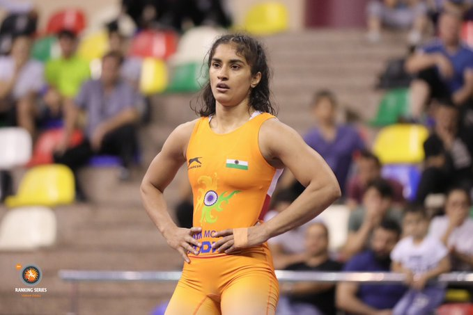 Vinesh Phogat becomes first Indian wrestler to qualify for 2020 Tokyo Olympics