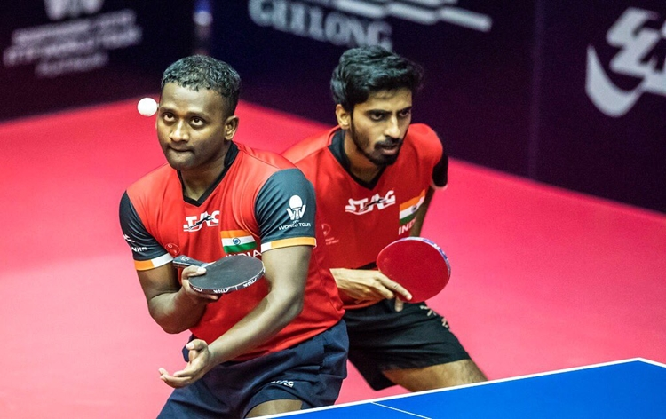 Table Tennis: G.Sathiyan, Anthony Amalraj win bronze at World Tour Platinum Australian Open
