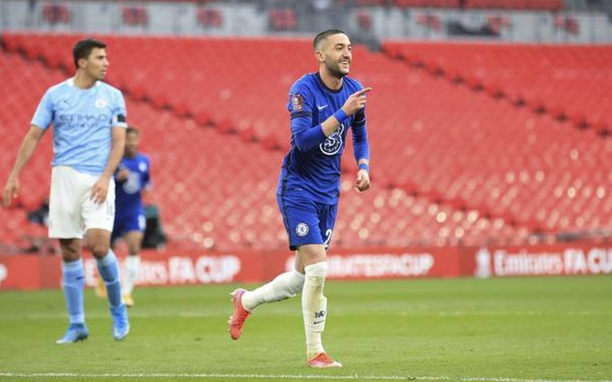 Chelsea beat Manchester City to secure place in FA Cup final