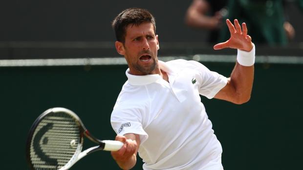 Novak Djokovic advances to 3rd round of Wimbledon