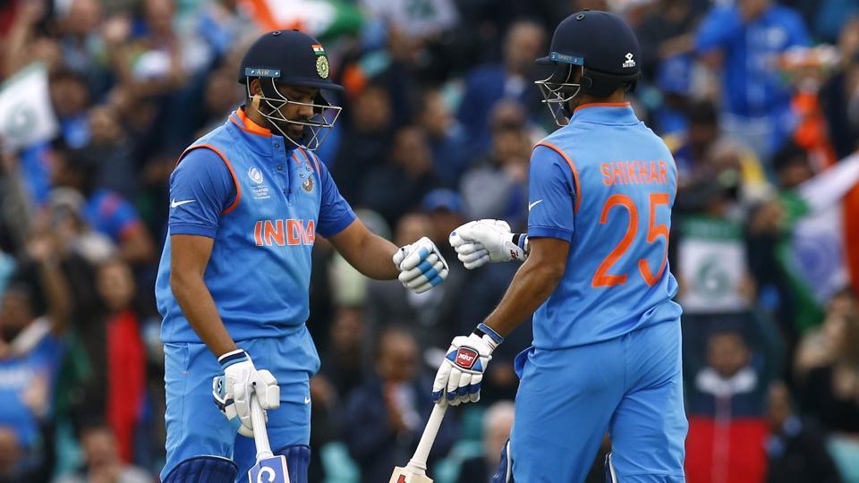 ICC Champions Trophy 2017: Rohit Sharma-Shikhar Dhawan set opening record