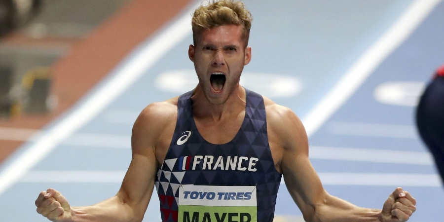 World Champion Kevin Mayer sets new world record in Decathlon in France