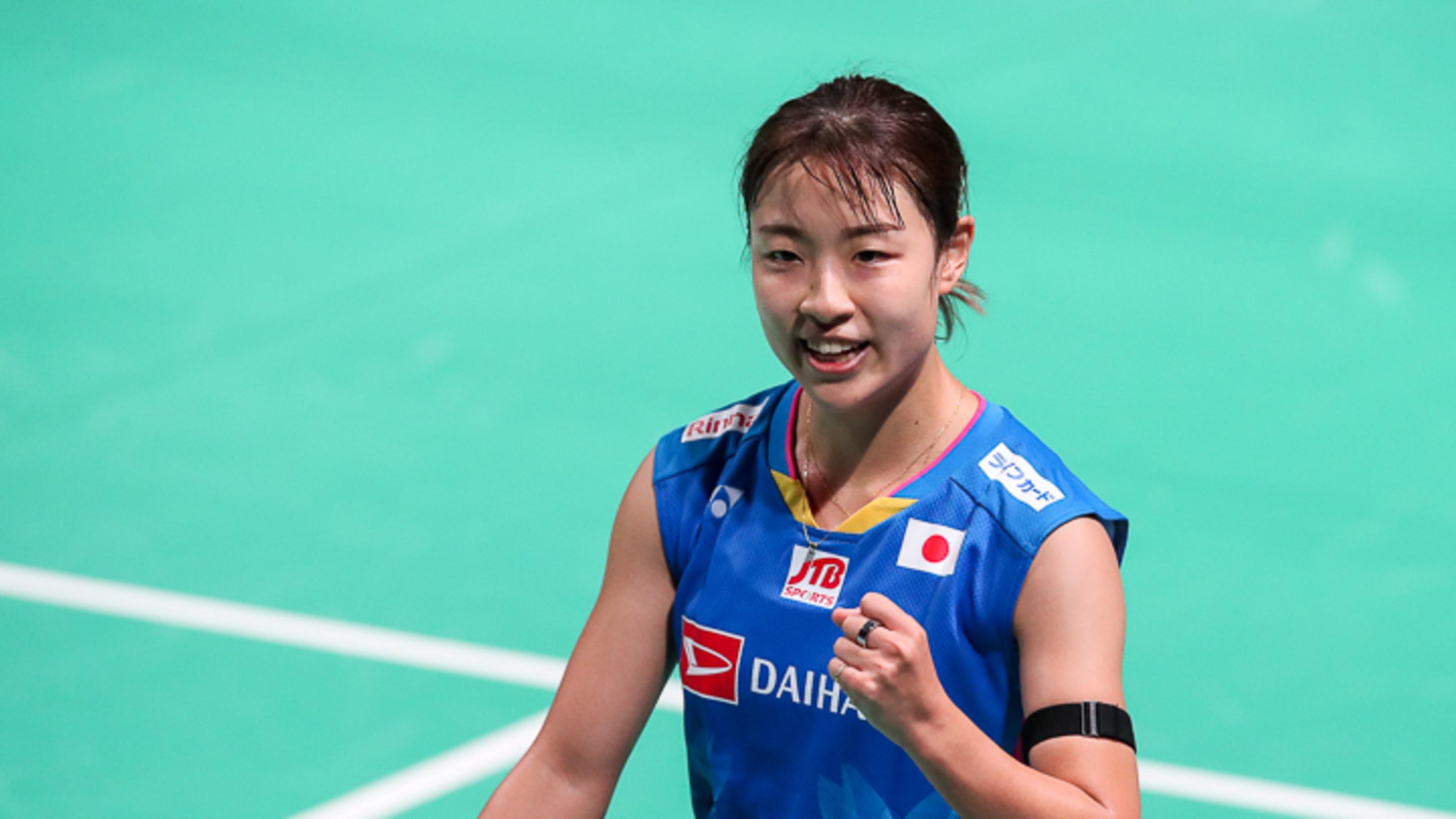 Nozomi Okuhara clinches Women