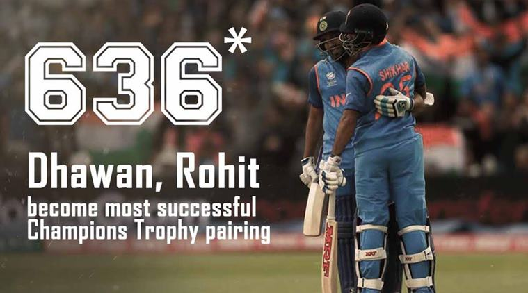 ICC Champions Trophy: Match 8: Dhawan-Dhoni guide India to 321/6 against Sri Lanka