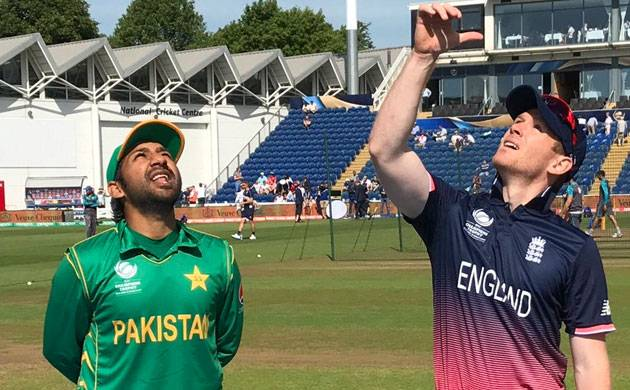 ICC Champions Trophy 2017 semifinal: England vs Pakistan:Pak wins toss , choose to bowl