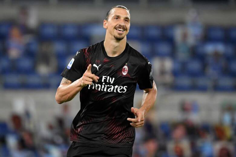 AC Milan Striker Zlatan Ibrahimovic tests COVID-19 positive