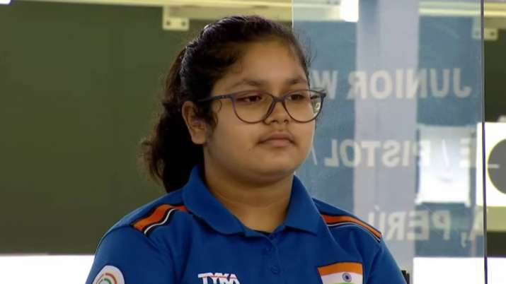 ISSF Junior World Championship: Naamya Kapoor clinches gold medal in Women