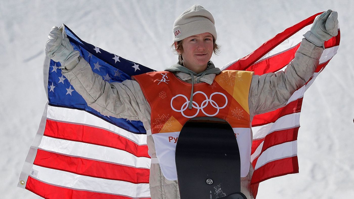 Snowboarding sensation Red Gerard wins first gold in Winter Olympics