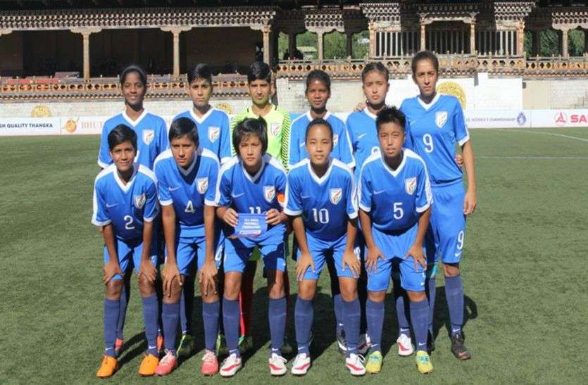 India lost 1-3 to Mexico in MU-15 football tournament