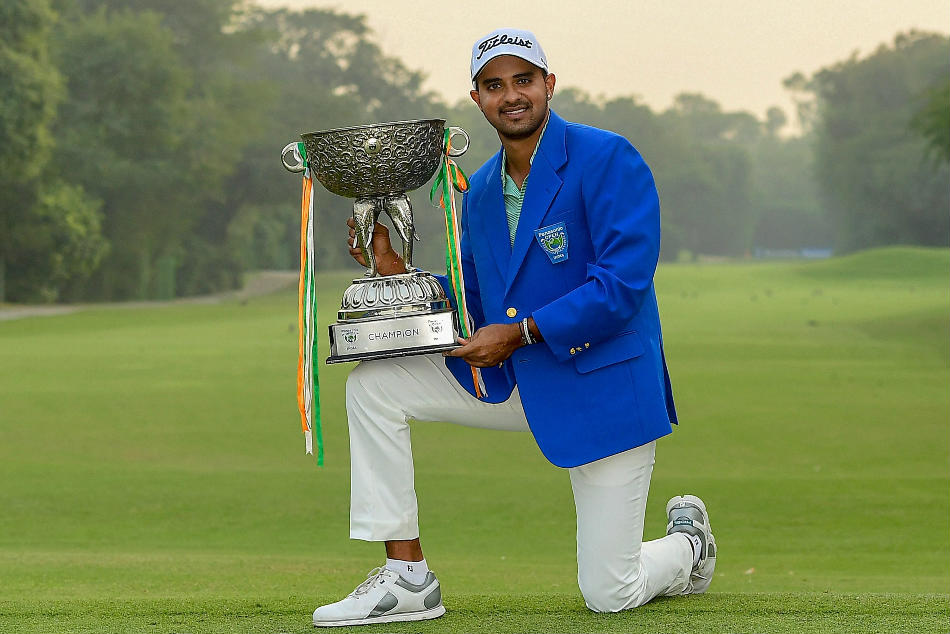 Indian golfer Khalin Joshi clinches Panasonic Open India title