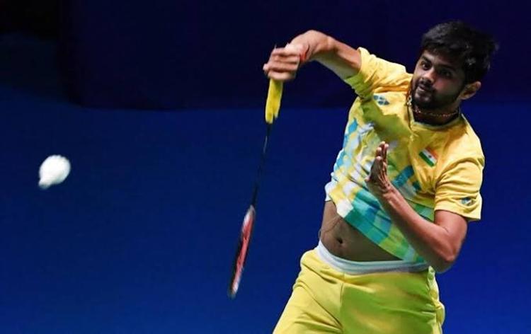Sai Praneeth to face Kanta Tsuneyama of Japan in quarterfinals of Thailand Open