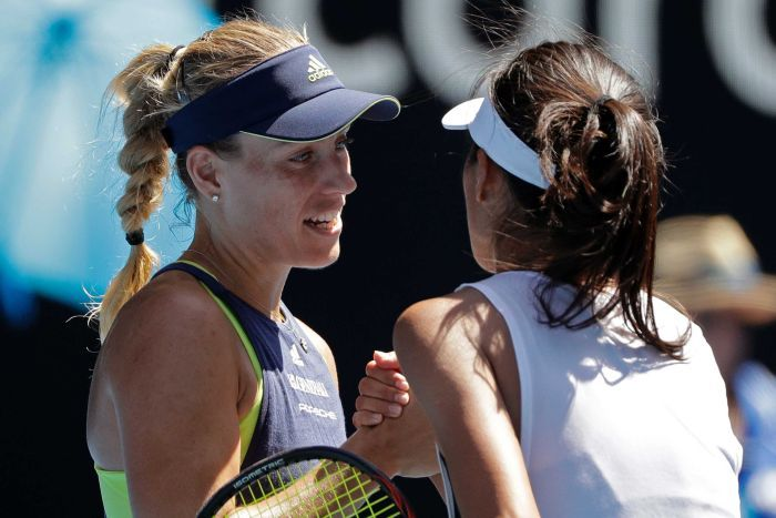 Angelique Kerber crush Madison Keys to reach in the semifinals of Australian Open