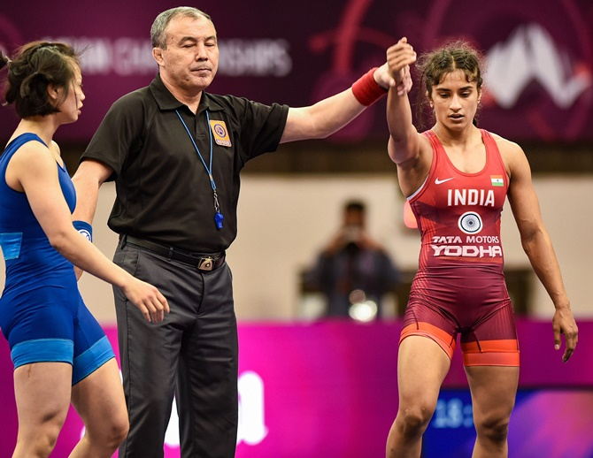 Highlights of Asian Wrestling Championships 2020