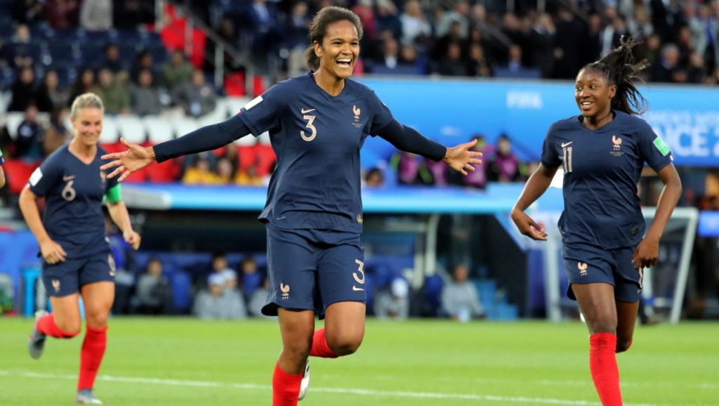 France beat South Korea by 4-0 in FIFA Women