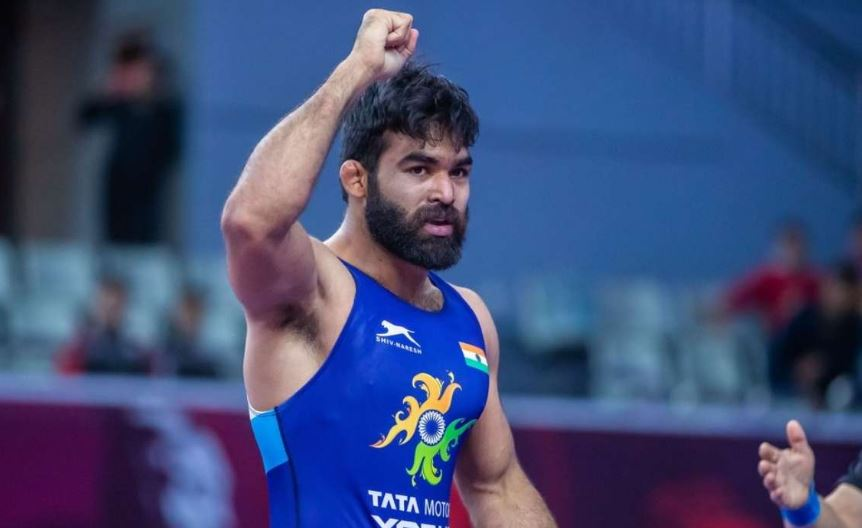 Indian wrestler Sunil Kumar reaches gold medal bout of Rome ranking series