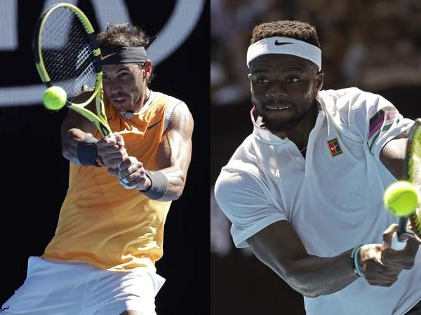Rafael Nadal faces Frances Tiafoe in the Australian Open today