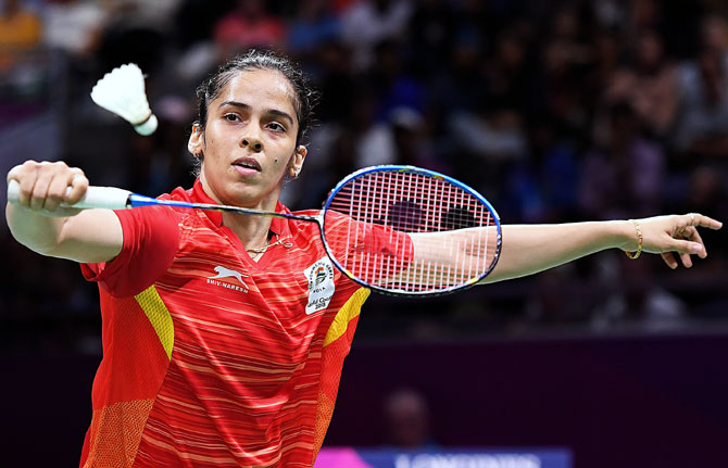 Saina crashes out of China Open
