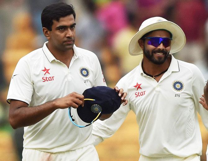 Jadeja, Ashwin remain on top of ICC Test bowlers