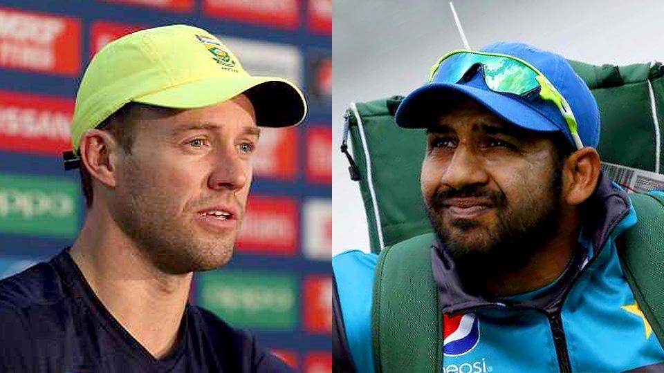 ICC Champions Trophy 2017:- Pak vs SA :  SA win toss , opt to bat
