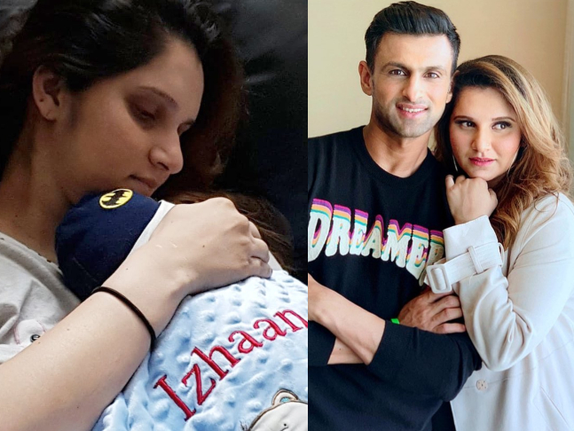 Sania Mirza shares picture with her son Izhaan Mirza Malik