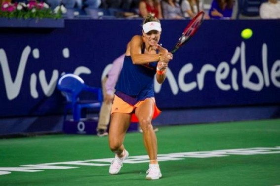 Kerber, Suarez Navarro advance to 2nd round of Dubai Open