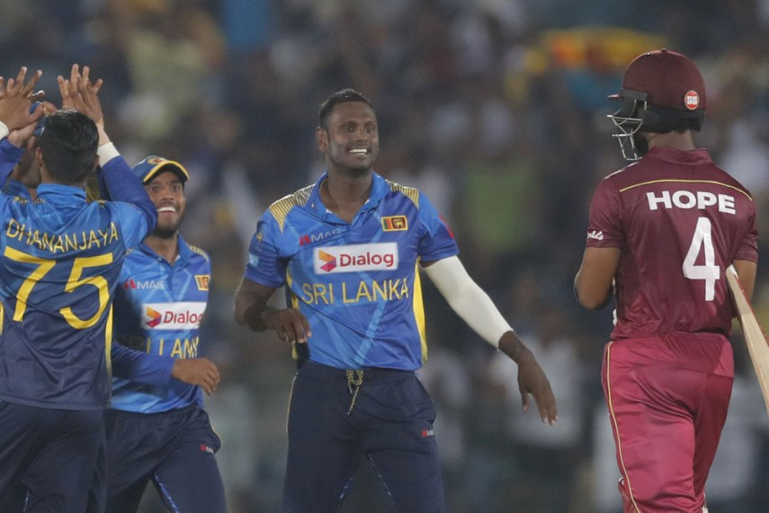 Sri Lanka beats West Indies by 161 runs to clinch 2nd ODI series