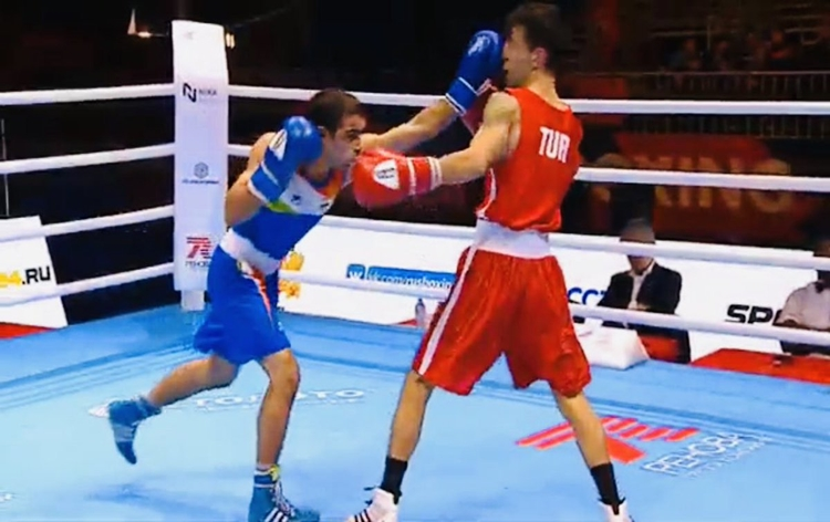 Four Indian boxers enter quarters of AIBA Men