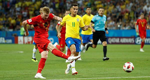 FIFA World Cup: Belgium enter semifinal after beating Brazil 2-1