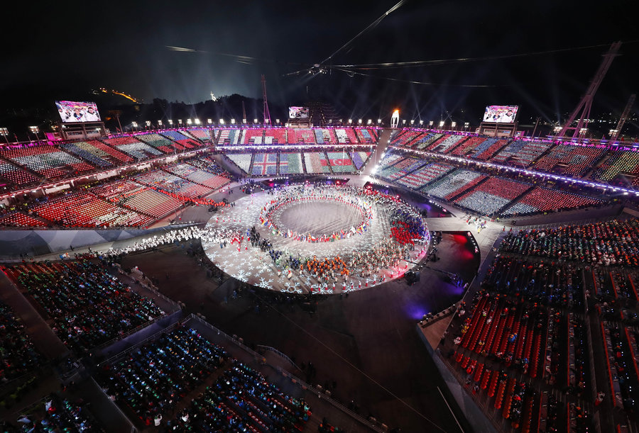 Closing Ceremony ends Winter Olympics in Pyeongchang,South Korea
