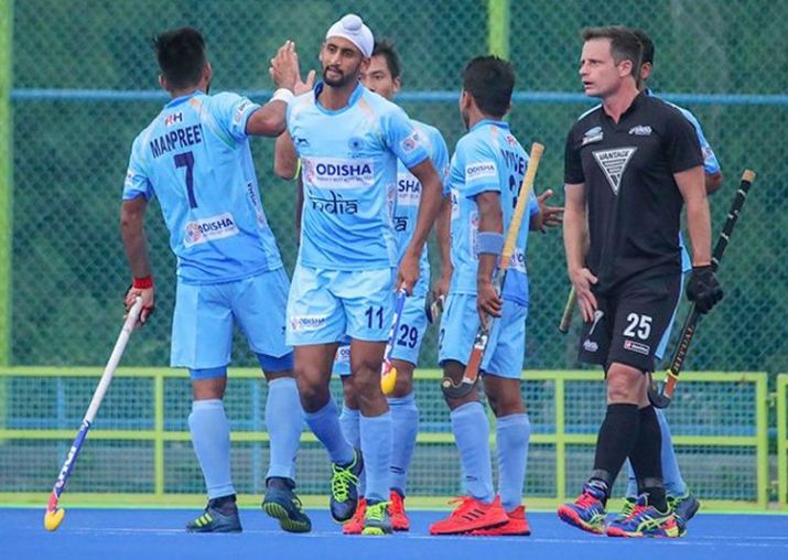Indian outplay New Zealand 4-2 in hockey series opener at Bengaluru