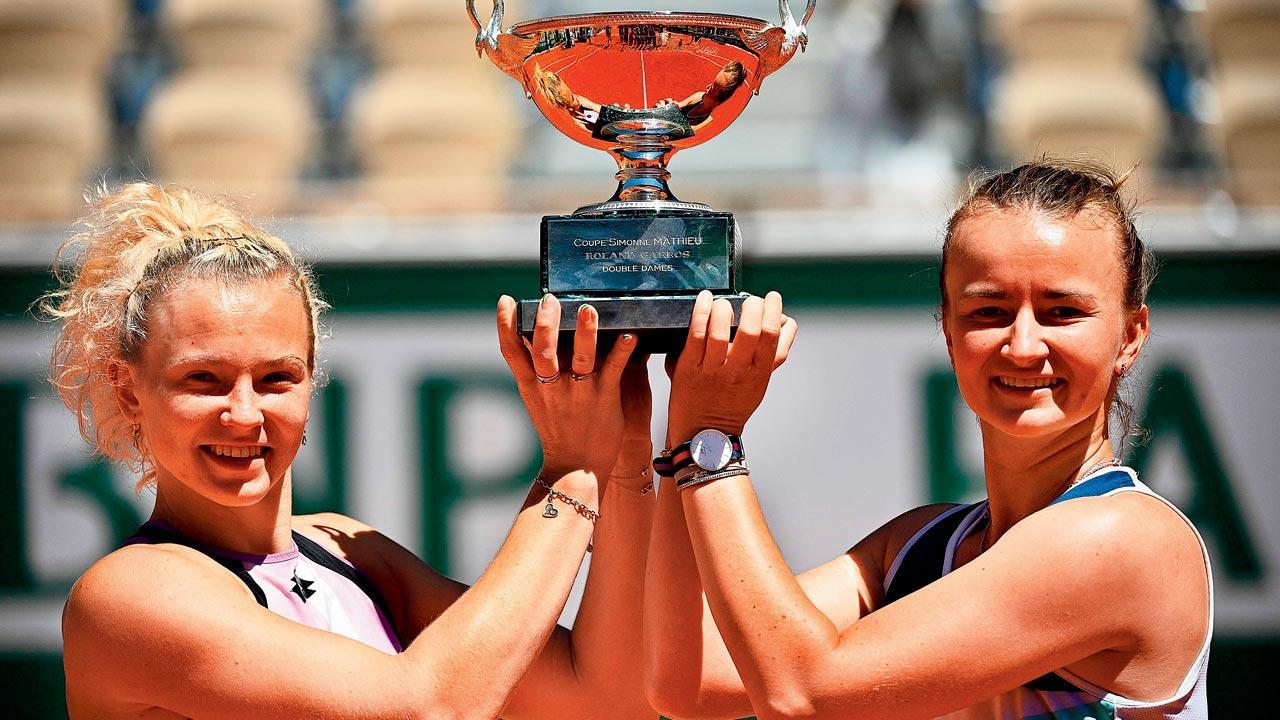 French Open: Barbora Krejcikova wins women