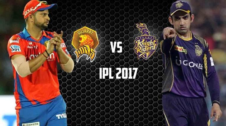 IPL 2017, T20, Gujarat Lions vs Kolkata Knight Riders: Roy, McCullum steady