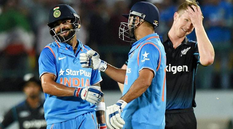 India beat New Zealand by six wickets in 1st ODI