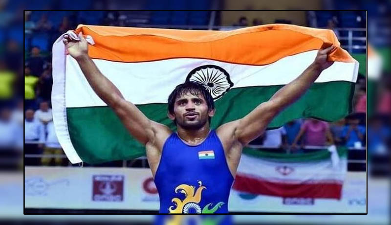 Wrestler Bajrang Punia wins gold in Bulgaria