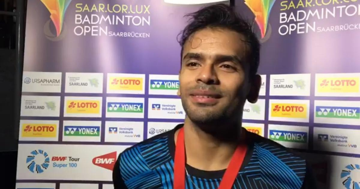 Subhankar Dey wins SaarLorLux Open Badminton tournament in Germany
