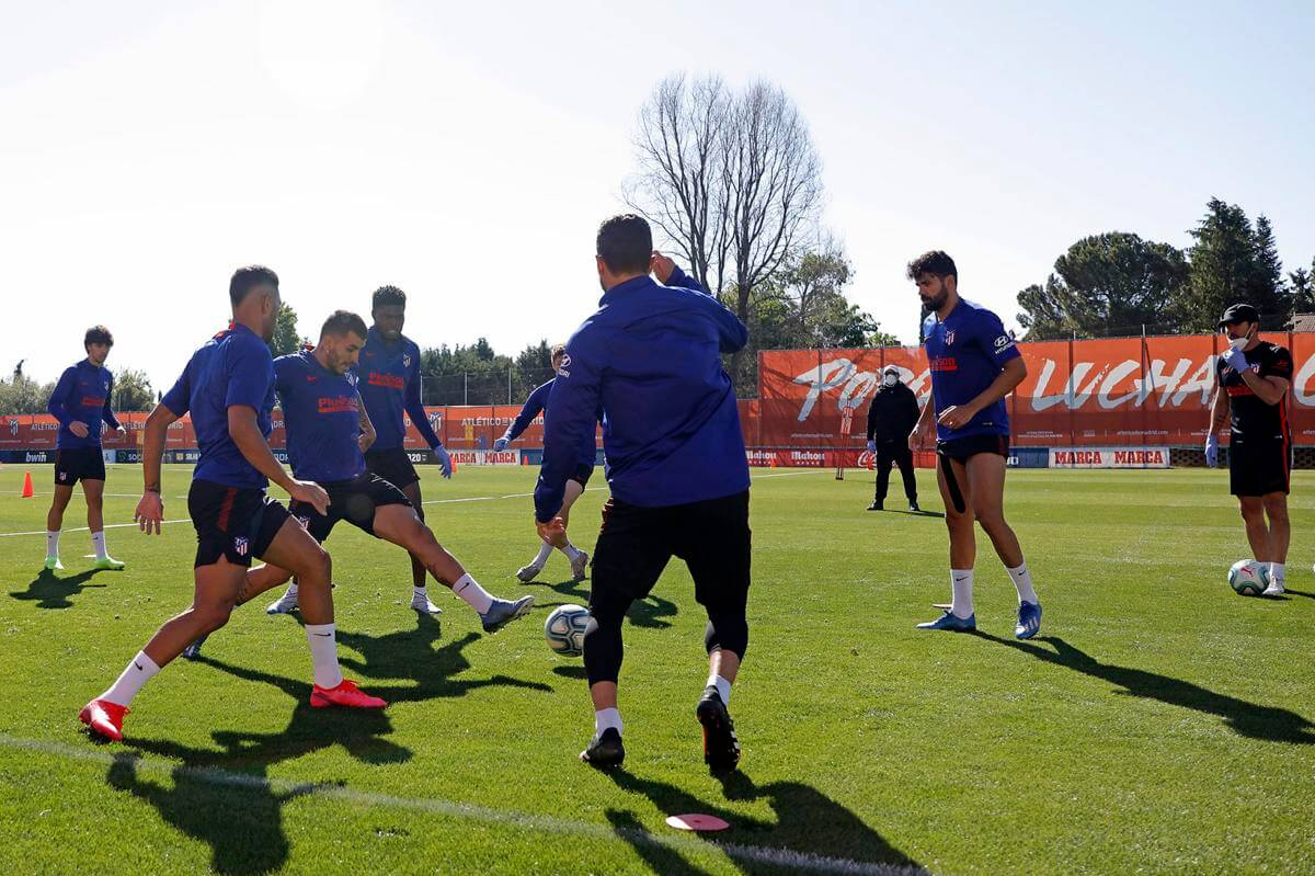 La Liga clubs begin training in group ahead of June restart
