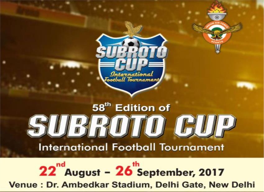Subroto Cup International Football Tournment begins in Delhi