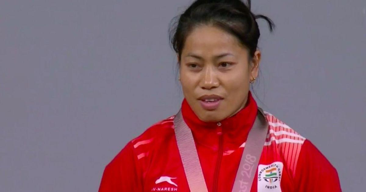 CWG gold medalist weightlifter Sanjita Chanu