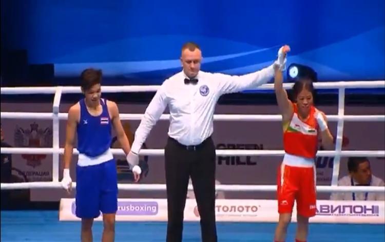 Mary Kom advances to quarterfinals of World Women