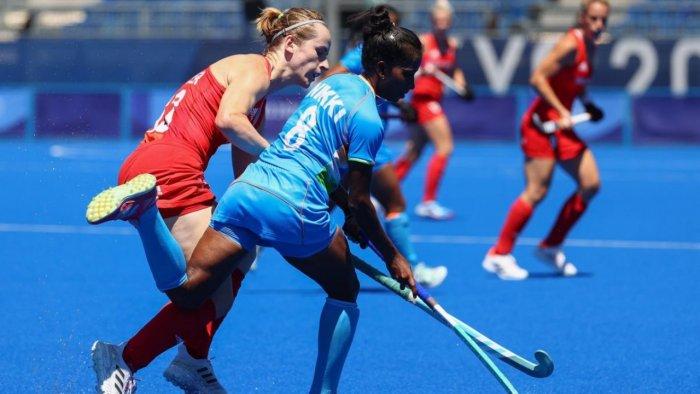 indianwomenshockeyteamloses34togreatbritainintokyoolympics