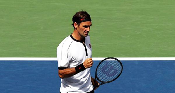 Federer crushes Goffin to reach US Open quarter-finals