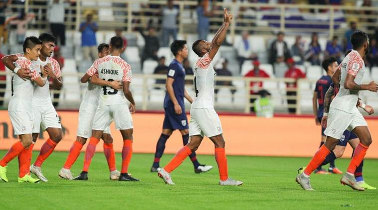 India beat Thailand 4-1 in AFC Asian Cup