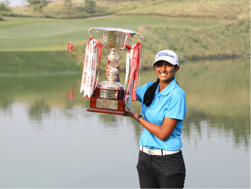 Aditi Ashok becomes the first to win women