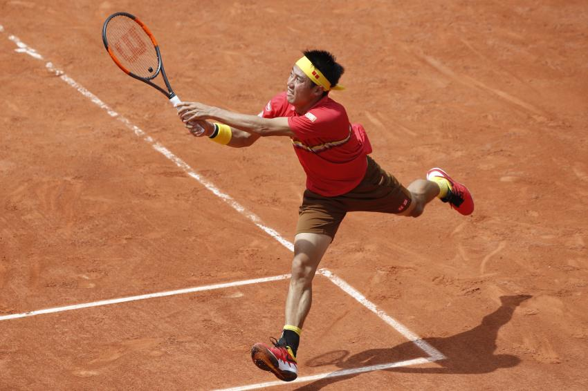 Nishikori beats Maxime Janvier in French Open first round