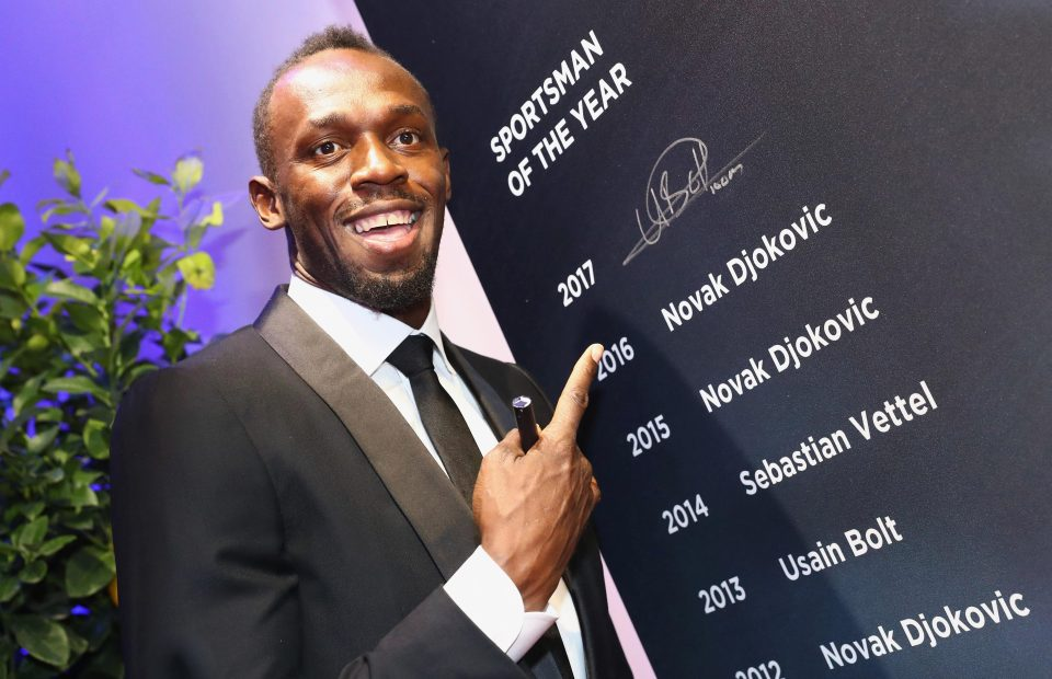 Usain Bolt win Laureus Sportsperson of the year award
