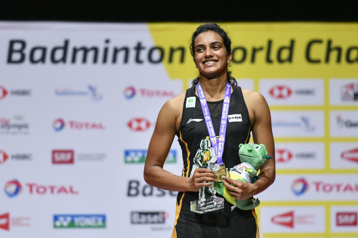 Sindhu becomes first Indian shuttler to win World Championships gold