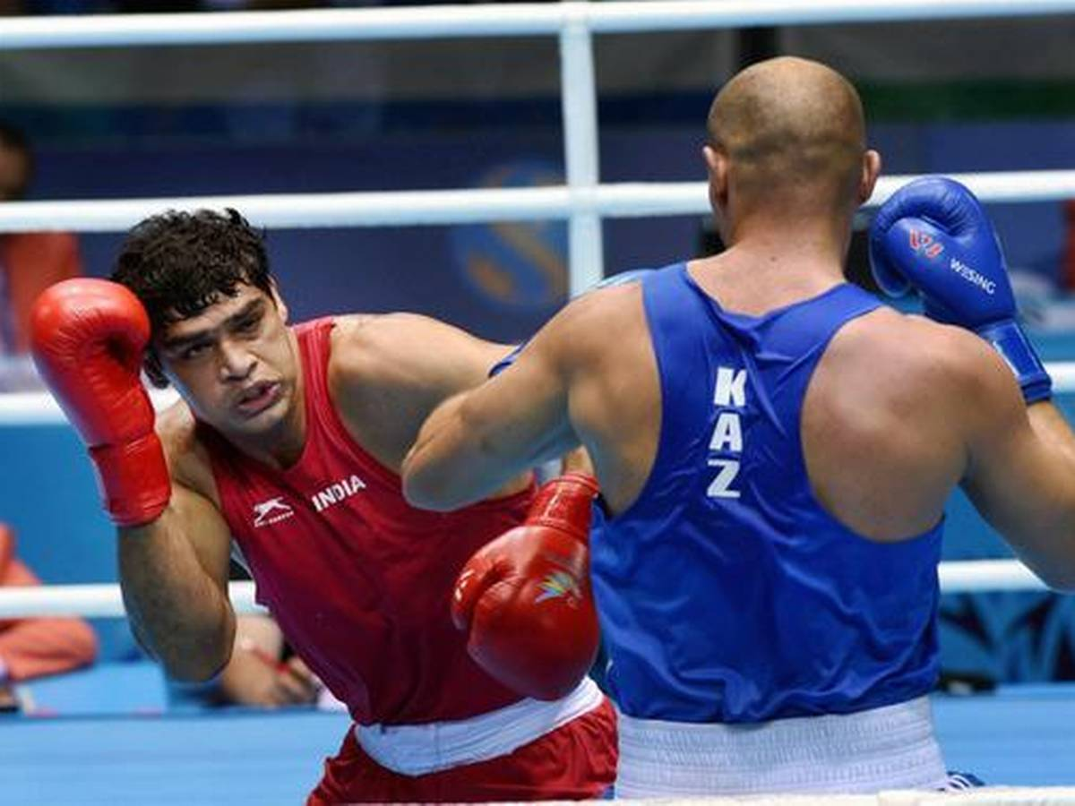 Satish, Ashish enter semifinals of the Boxam International Boxing